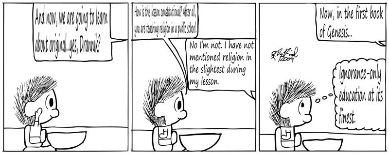 Negligence #263: Ignorance-only Education